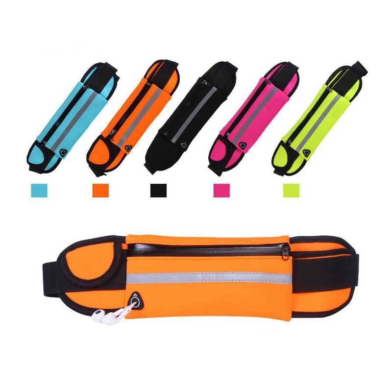 Professional Running Waist Bag Belt Sport Belt Mobile Phone Men Women With Hidden Pouch Gym Bags Running Belt Waist Pack