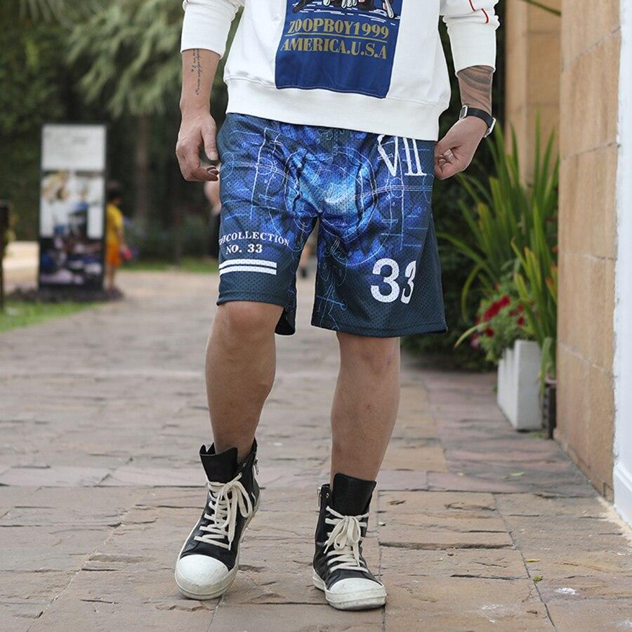Sea Mesh Summer Shorts Men Beach 2018 Big Size Dolphin Swimshort Celana Jeans Swimwear Letter Board Pantai Pria Gay Clothes 8k26