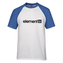 New Men's Fashion Short sleeve Skateboard Street ELE T Shirt Tops Cotton
