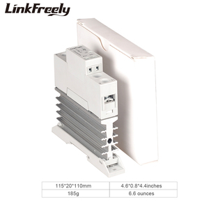 Image 5 - TRA48D25L 25A Photoresistor isı emici SSR katı hal röle Din ray DC AC 5V 12V 24V 32VDC giriş 42 480VAC çıkış güç rölesi