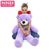 Niuniu Daddy huge Teddy bear skin Semi finished Plush dolls bear Toys stuffed animals 230 cm