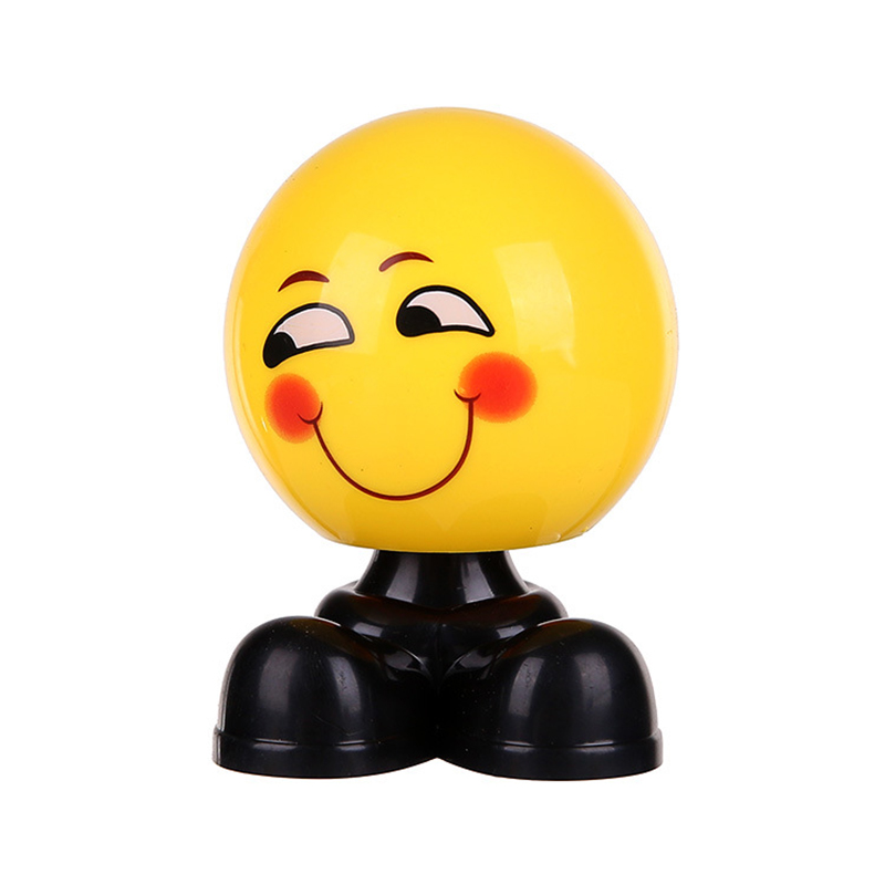 Image 4 - Creative Car Shaking Head Ornaments Cute Personality Loading Car Emoticon Bag Jewelry Ornaments   girl car accessories-in Ornaments from Automobiles & Motorcycles