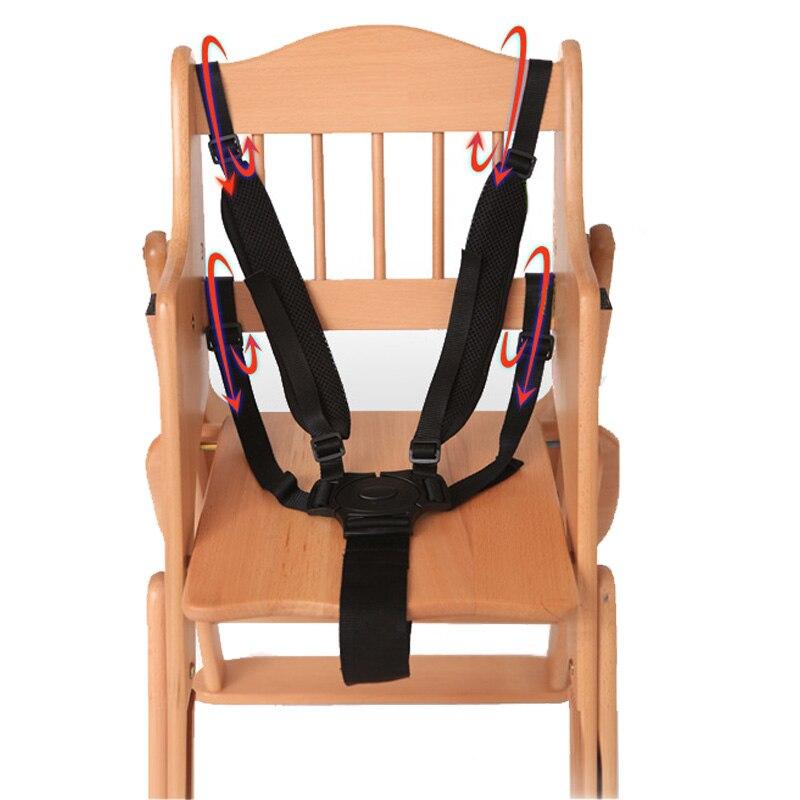 Детские 5 точечные ремни безопасный ремень Собака Ремни безопасности для коляски стульчик коляска детская коляска 360 Вращающийся крюк t0210