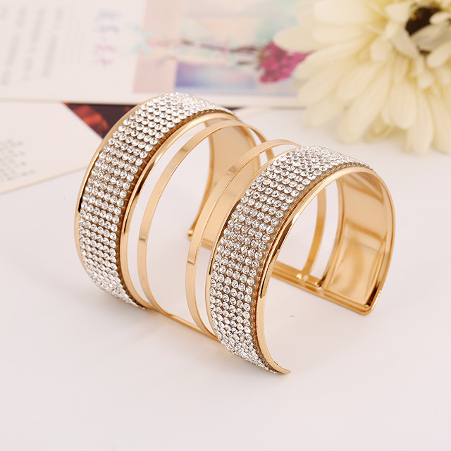 Crystal Statement Bangle