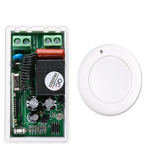 online get cheap ac switch wiring aliexpress com alibaba group most simple wiring new ac 220 v 1ch wireless remote control switch system receiver white