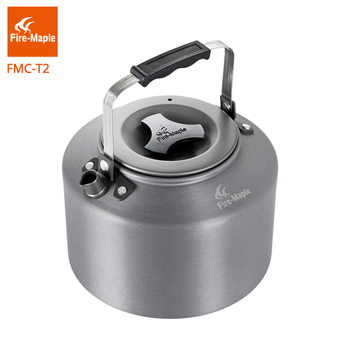Fire Maple Outdoor Camping Picnic ultralight Hiking Portable Teapot kettle Coffee Tea Pot 1.4L with Heat Proof Handle Tea FMC-T2 portable 0 8l outdoor hiking camping water kettles teapot coffee pot travel houseused hot water kettle
