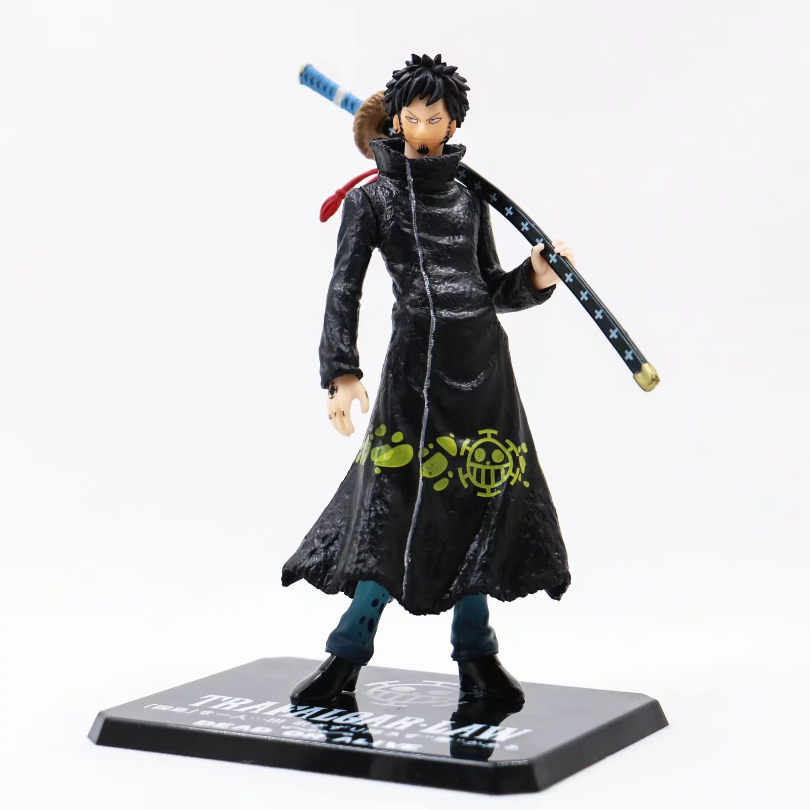 17CM pvc Japanese anime figure One Piece Trafalgar Law ZERO action figure collectible model toys for boys