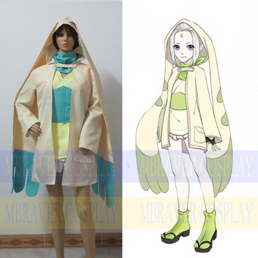 Digital Monster Digimon Terriermon Personification Anime Custom Made Uniform Cosplay Costume