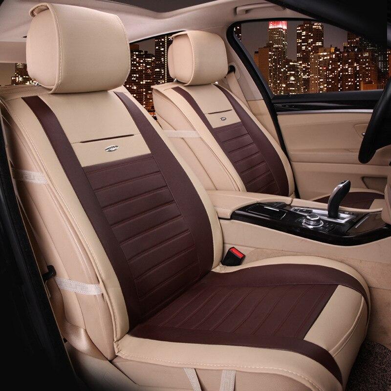 Siège de voiture plein cuir grand siège coussin nouvelle voiture siège housse coussin fabricants en gros quatre saisons - 2