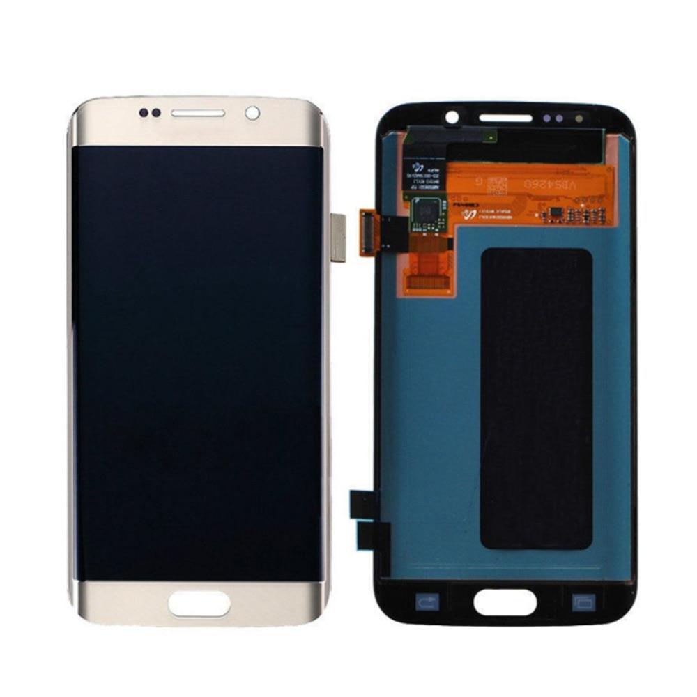 Pour Samsung Galaxy S6 Edge Smartphone LCD G925F/G925AVTP accessoires de réparation d'assemblage de remplacement d'affichage