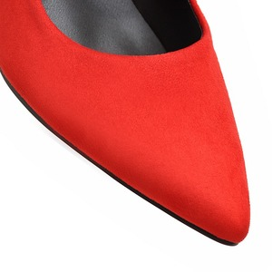 Image 5 - Brand New 6 Colors Elegant Black Women Nude Formal Pumps Gray Vogue High Heels Lady Office Shoes AC356 Plus Big Size 10 33 43