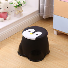 cute penguin patern baby stool kid seater portable fishing stool living room furniture children ottoman bathroom stool S(China)