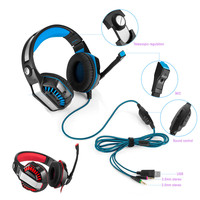 Malloom HOT 3.5mm Gaming Stereo Gaming Headset Headband Headphone USB 3.5mm Headset Headband Headphone with Mic for PS4/XBOX HOT