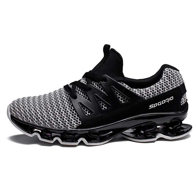 New The Blade Men Running Shoes Summer Breathable Mesh Sport Shoes Men Sneakers Cushioning Outdoor Professional Training Shoes