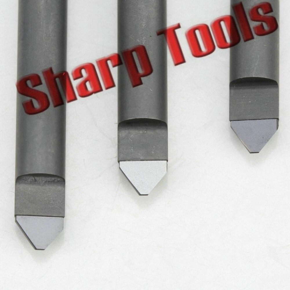 """new Brubaker Tool 3//64/"""" x 3//16/"""" x 1//8/"""" x 2-1//4/"""" 2FL HSCo Cobalt Double End Mill"""