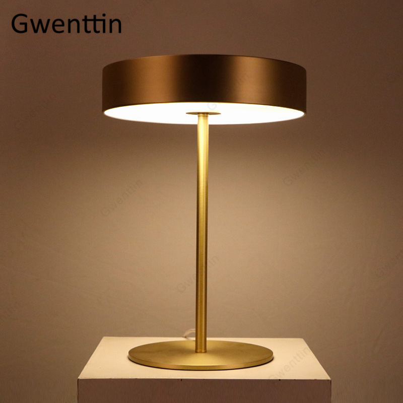 Modern Metal Table Lamps Nordic Standing Desk Light for Reading Bedroom Bed Bedside Lamp Led Light Fixtures Home Decor Luminaire