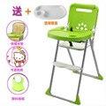 Стульчики для кормления Младенцев Mutifunctional детский стульчик регулируемый стульчик для кормления складной обеденный