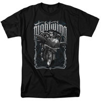 Funny Cotton T Shirts Gildan Office Nightwing Batman Night Wing Biker On Motorcycle Robin O Neck
