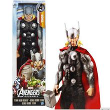Original box – Marvel  Avengers Thor PVC Action Figure Brinquedos Collectible Model Toy Super Hero kids toys  12″30CM