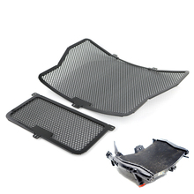 Radiator Guard Grill Oil Cooler Cover Protector For BMW S1000R S1000RR S1000XR HP4 Black 2009-2016 freeshipmotorcycle radiator grille oil cooler guard protector cover protective for bmw s1000rr abs k46 2009 10 11 12 13 14 15