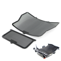 Radiator Guard Grill Oil Cooler Cover Protector For BMW S1000R S1000RR S1000XR HP4 Black 2009 2016