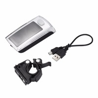 Solar Powered LED Flashing Front Light For Bicycle Bike Cycling Safety Free Shipping