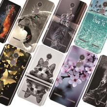 Cases For Lenovo K6 Power K33A42 Soft Silicone TPU Fashion Pattern Painting For Lenovo K6 Power Case Cover все цены