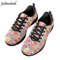 Jackherelook Veterinary Pattern Light Running Shoes Women Brand Veterinarian Design Mesh Sneakers Leisure Women's Sport Shoes