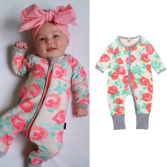 9f0ce9aff17a Aliexpress.com   Buy Baby Clothes Cotton Baby Rompers Baby Girl ...