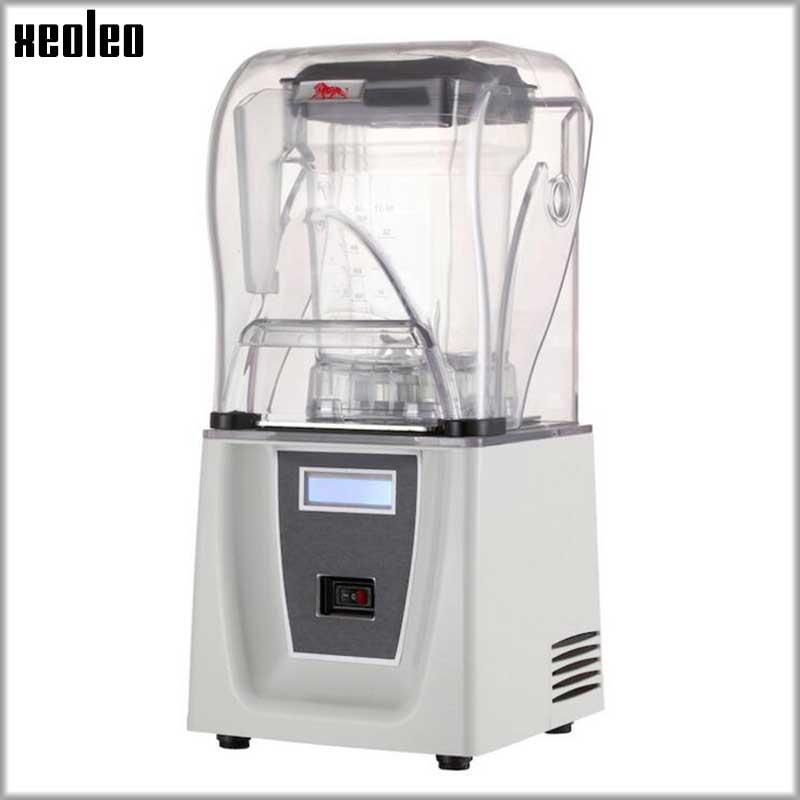 Xeoleo Commercial High performance blender Sound insulation 1800W Food mixer 2L Heavy duty Blender BPA Free Mute Smoothie maker 767s heavy duty commercial blender mixer smoothie maker machine 2200w 2l 220v 110v various speed versatile