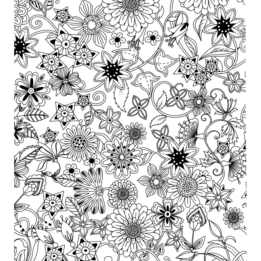 Image 5 - Dream Garden Coloring Books For Children Adult Relieve Stress Secret Garden Kill Time Graffiti Painting Drawing colouring book-in Books from Office & School Supplies