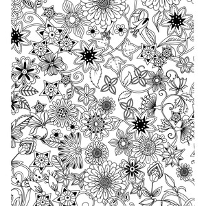 Image 5 - Dream Garden Coloring Books For Children Adult Relieve Stress Secret Garden Kill Time Graffiti Painting Drawing colouring book