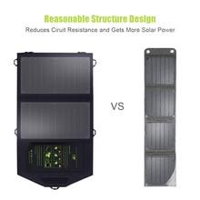 все цены на SunPower Foldable 10W Solar Cells Charger 5V USB Output Devices Portable Solar Panels for Smartphones онлайн