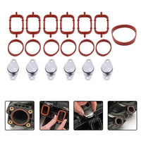 Professional 6Pcs 22mm 33mm Swirl Flap Replacements Removal Blanks Manifold Gaskets Dedicated Diesel Engines For BMW