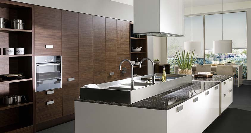 2017 Customized Solid Wood Kitchen Cabinet Kitchen
