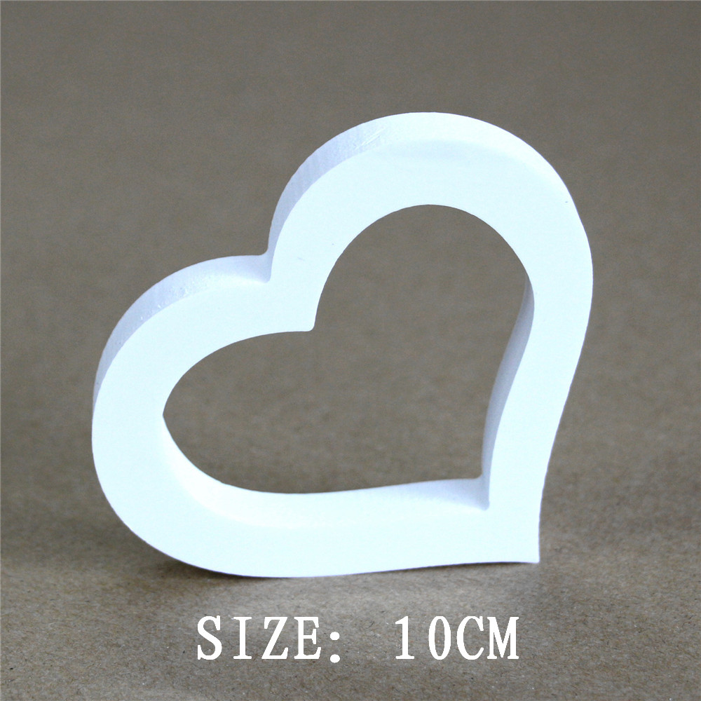 10cm Digital Number Child's name for Home wedding decoration Artificial wood Wooden letters Butterfly crown heart Diamond ring