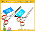 "5% OFF 5.5"" 6"" Professional Hairdressing Salon scissors set Hair Thinning + barber Cutting Shears Haircut scissors hairdresser"