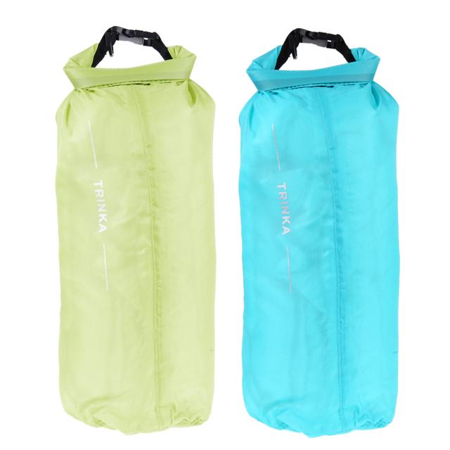 8L Waterproof Swimming Bag Dry Bag Storage Pouch Handbag Portable Travel Kit for Beach Kayak Rafting drifting, Camping 4 Colors