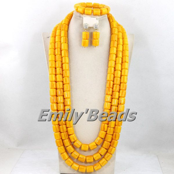 Indian Nigerian Wedding Beads Bridal Necklace Jewelry Set African Costume Coral Beads Jewelry Sets Free Shipping CJ405Indian Nigerian Wedding Beads Bridal Necklace Jewelry Set African Costume Coral Beads Jewelry Sets Free Shipping CJ405