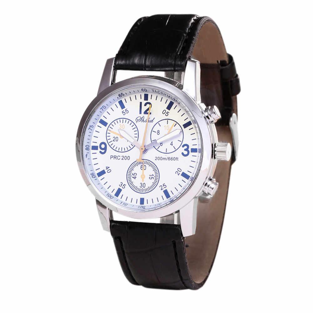 Laki-laki Watch 2019 Pria Warna Bisnis Reloj Hombre Sex Kol Saati Clock Vintage Mens Watch Saatler Jam Tangan Kasual Hadiah