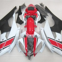 Fairing Body Kit For YAMAHA R6 08 09 10 11 12 13 Red White Black fairings 2008 2009 2013 YZF R6 Fairing Set