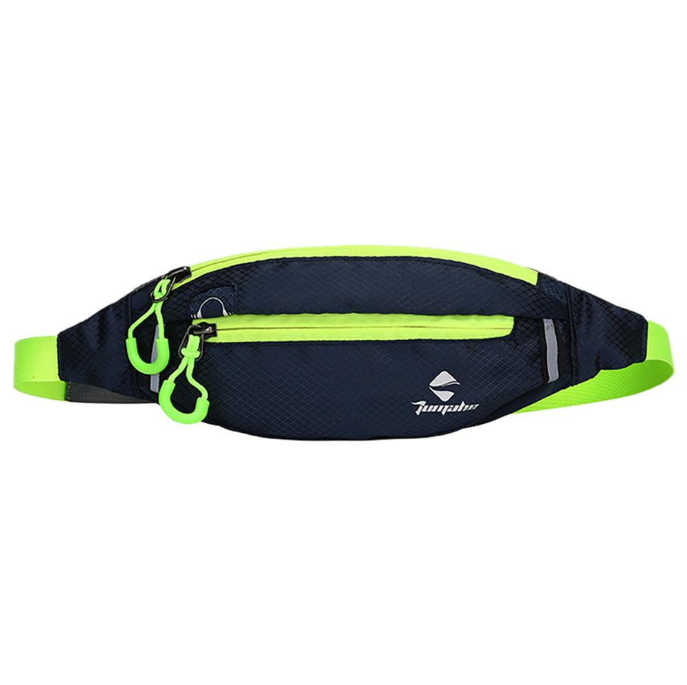 Heouty Fanny Pack 2019 Men's And Women's Leisure Fashionable Waterproof Outdoor Sports Pockets Running Pockets Waist Pack