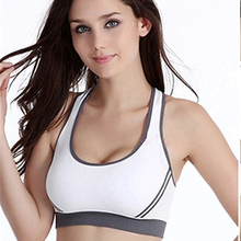 Women Jogging Athletic Running Sports Bra Breathable Sports