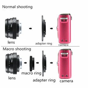 Image 5 - Neue kommen fuji eine 35mm f1.6 C mount kamera CCTV Linsen II für N1 fuji film fuji NEX Micro 4/3 EOS B