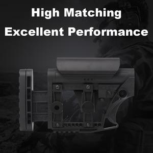 Image 1 - LUTH AR MBA 3/4 전술 나일론 에어건 CS 스포츠 페인트 볼 Airsoft 전술 BD556 수신기 기어 박스에 대한 확장 주식
