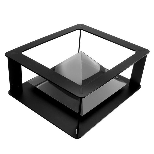 Nova chegada de alta qualidade display stand 3d projetor holográfico para 6 inch-1 inchtablets para ipad 1/2/3/4/5
