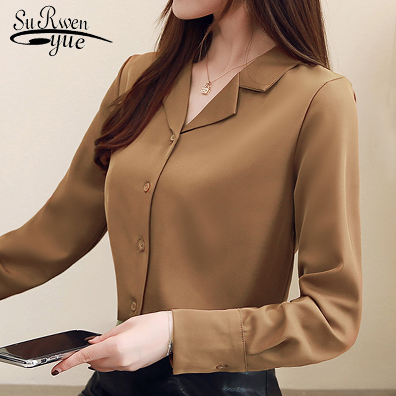 fashion womens tops and   blouses   suit collar office   blouse   women tops long sleeve women   shirts   elegant women   blouse     shirt   1739 50