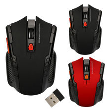 2.4GHz Wireless Gaming Mouse 1200 DPI 6 Keys USB 2.0 Receiver Pro Gamer mice Optical Computer Ergonomic Mice For Laptop PC Mouse(China)