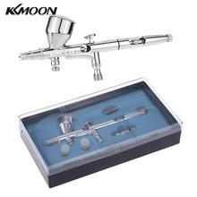Airbrush-Kit-Set Paint Art-Craft Dual-Action Kkmoon Gravity-Feed Hobby for Model-Body