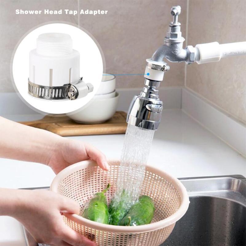 Вращающаяся Поворотная насадка на кран, насадка для душа, барботер для экономии воды, зеркальный очиститель воды для детской комнаты
